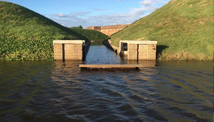 Fort Pulaski Flooding