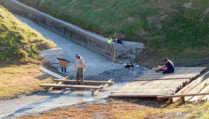 Fort Pulaski Hurricane Matthew Recovery