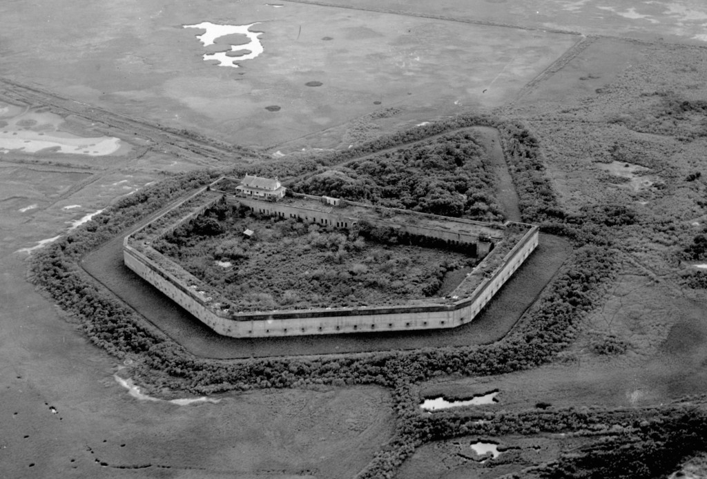 For Pulaski in 1924. Photo courtesy of the National Park Service, Fort Pulaski National Monument.