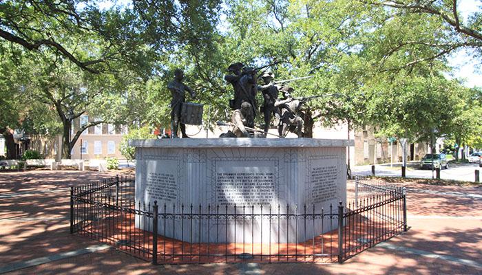 Franklin Square Hatian Monument