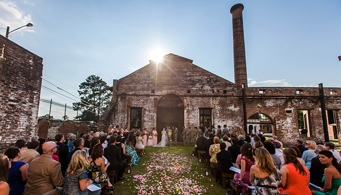 Georgia State Railroad Museum Savannah Wedding
