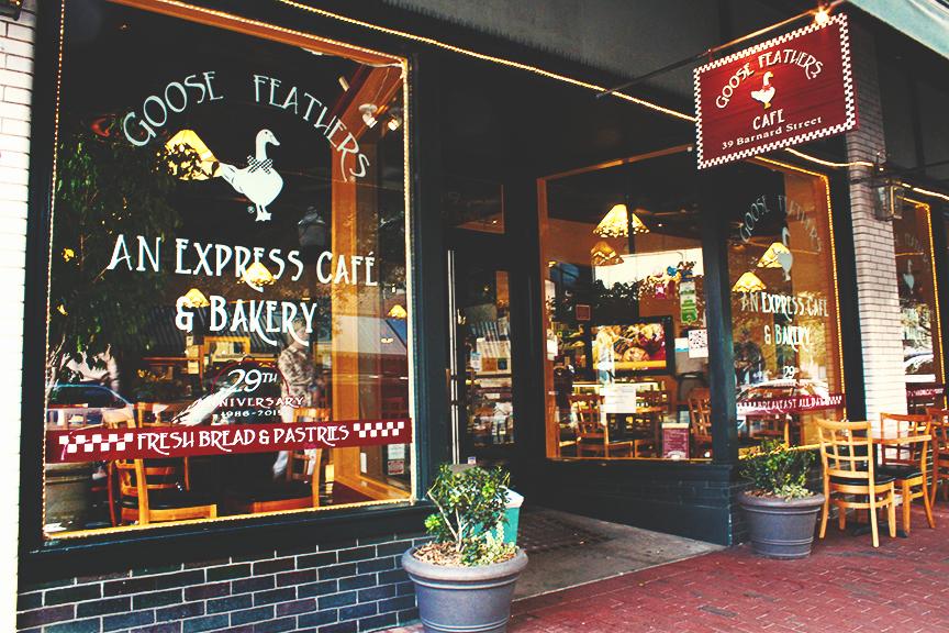 Goose Feathers An Express Cafe Bakery Savannah Ga