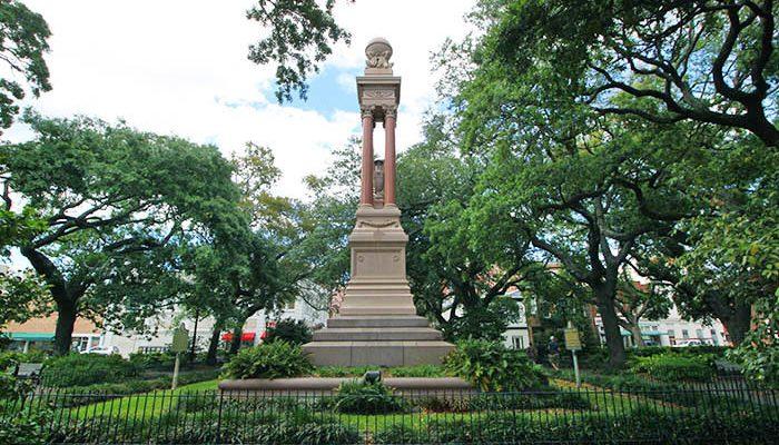Gordon Monument Wright Square