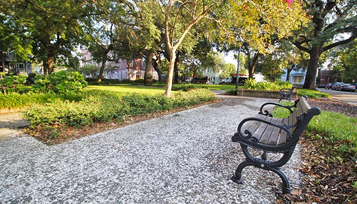 Greene Square in Savannah