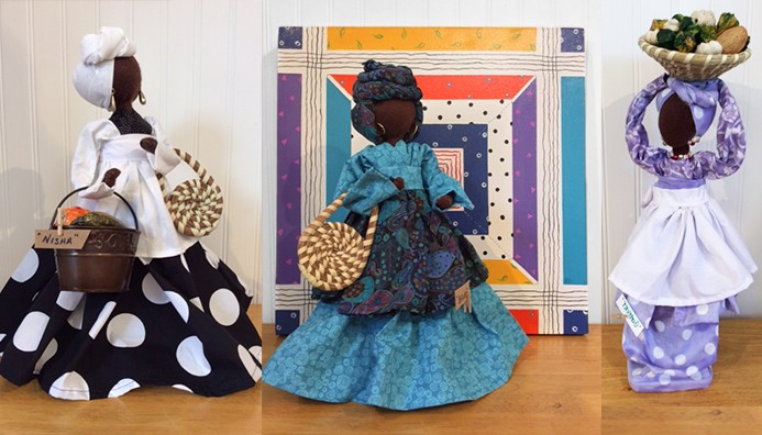 Gullah Bottle Dolls