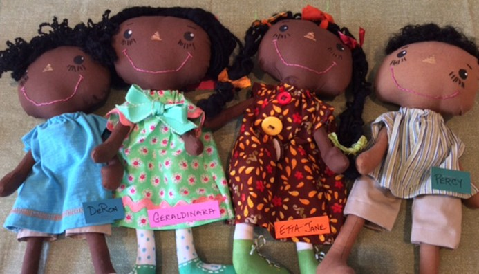 Gullah Soft Sculpture Dolls