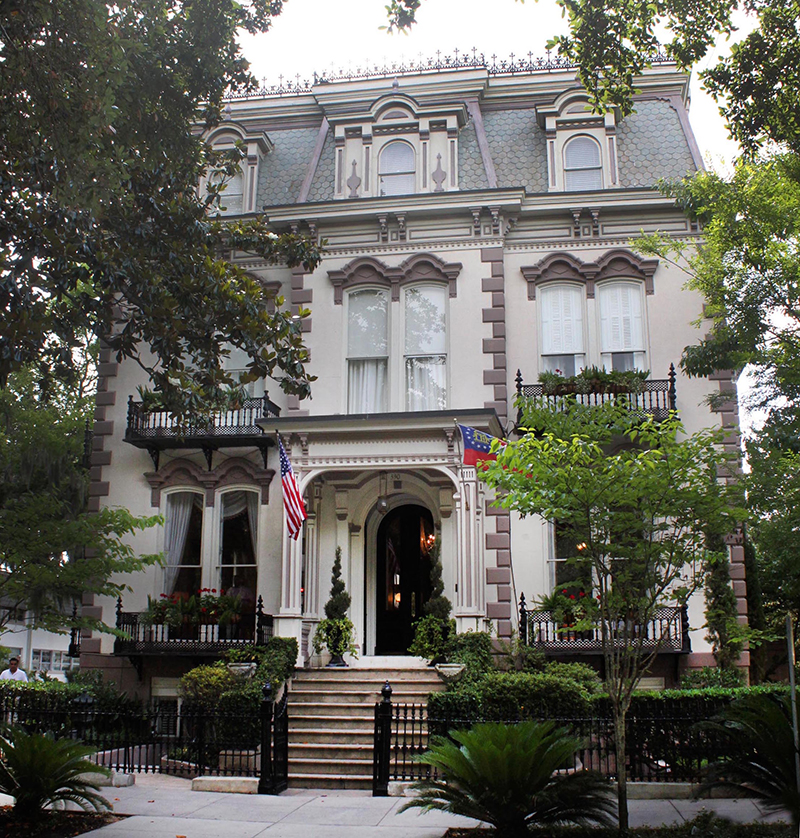 hamilton turner house - Mansion Architectural Styles