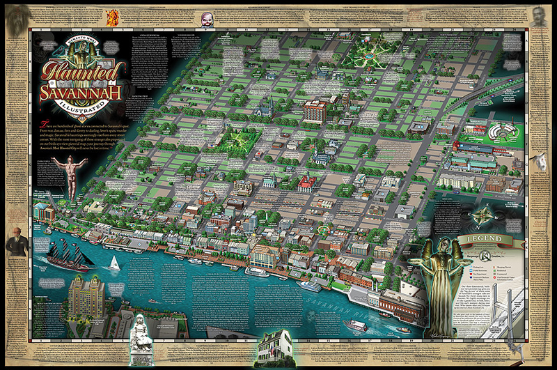 Haunted Savannah Map