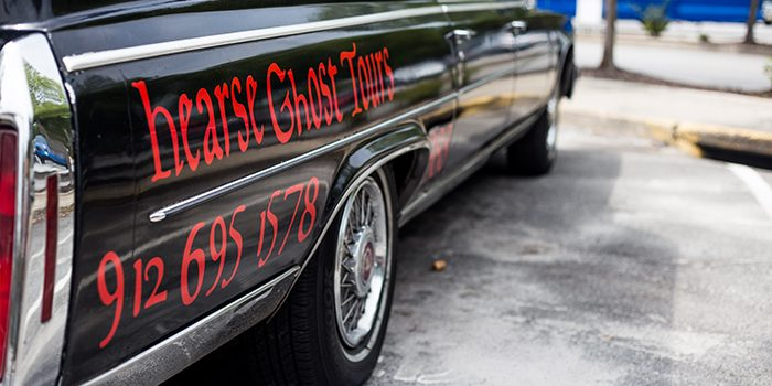 Hearse Ghost Tours in Savannah