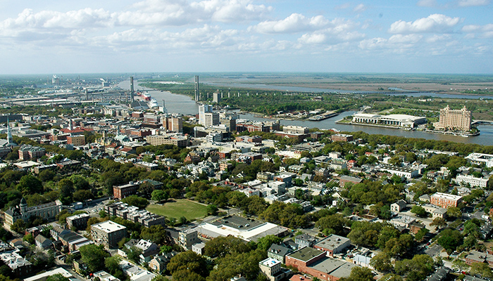 Helicopter Tours of Savannah Georgia