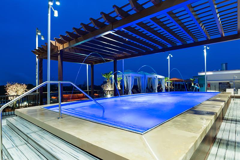 Homewood Suites Rooftop Pool