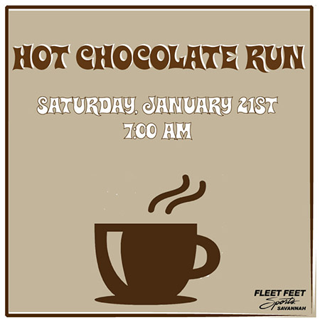 Hot Chocolate Fun Run in Savannah