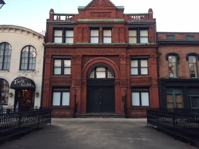 Savannah Cotton Exchange