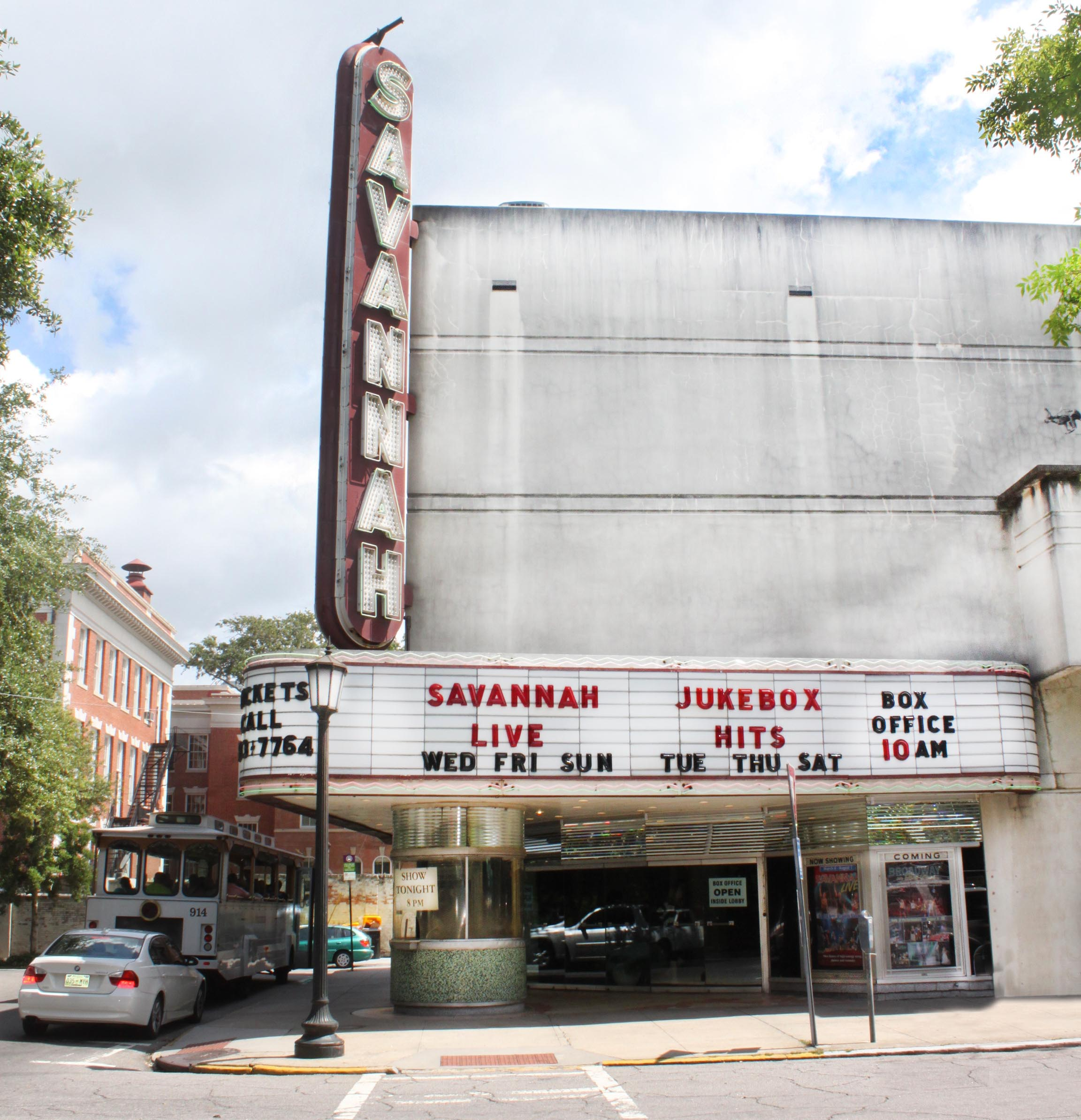 Head Over To The Savannah Theatre