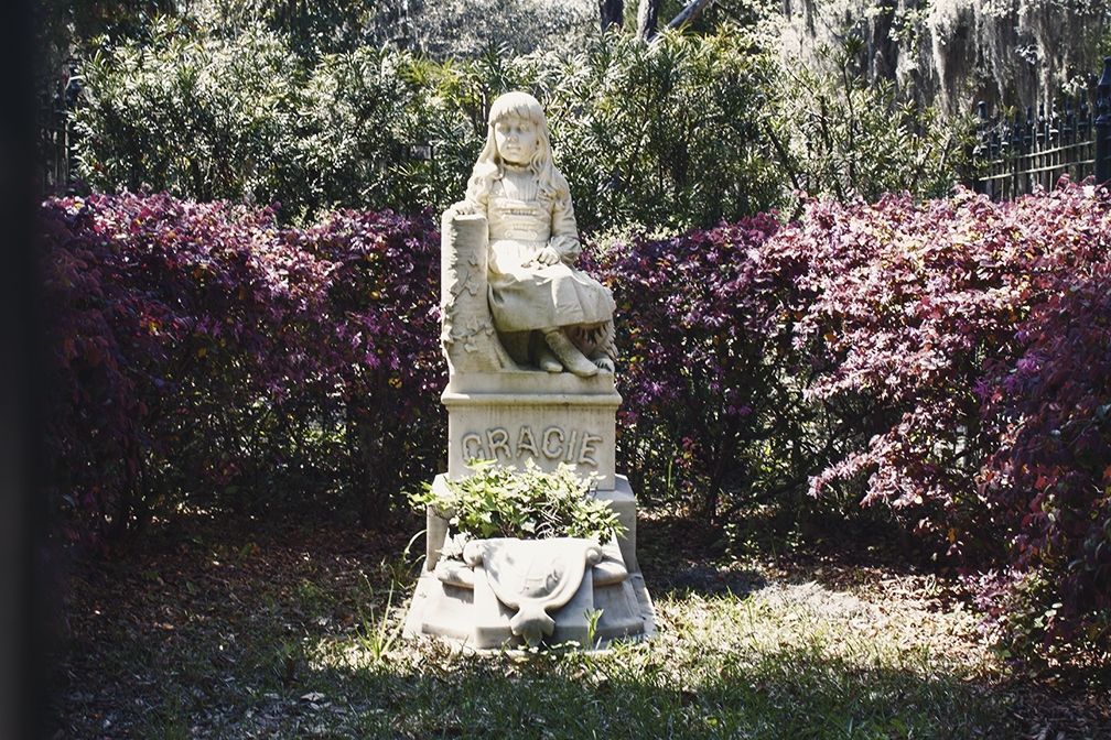 Little Gracie at Bonaventure Cemetery