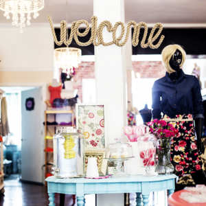 RMC Boutique Welcome