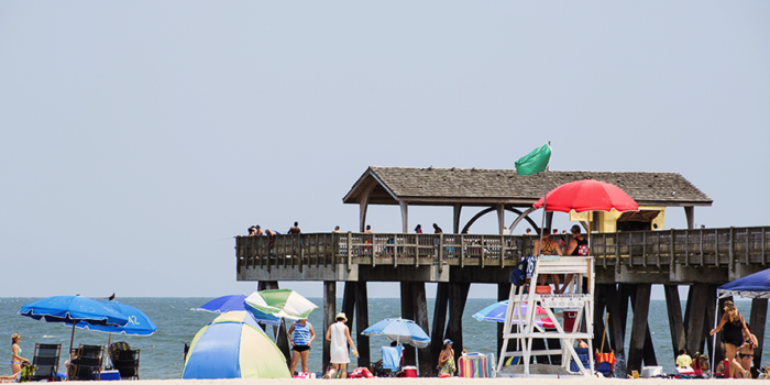 Tybee Island Pier on South Beach