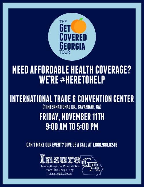 Insure GA Get Covered Georgia Tour 2016