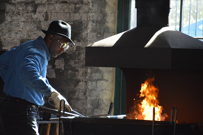 Irons in the Fire Blacksmithing Event