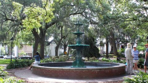 LaFayette Square Fountain