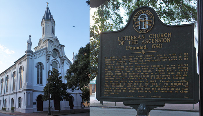 Luthern Church of Ascension on Wright Square