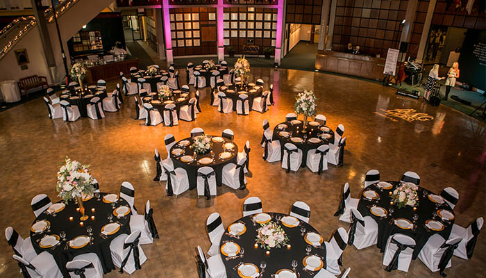 Mighty Eighth Air Force Museum Wedding Reception Venue in Savannah