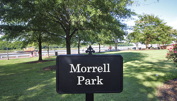 Morrell Park in Savannah