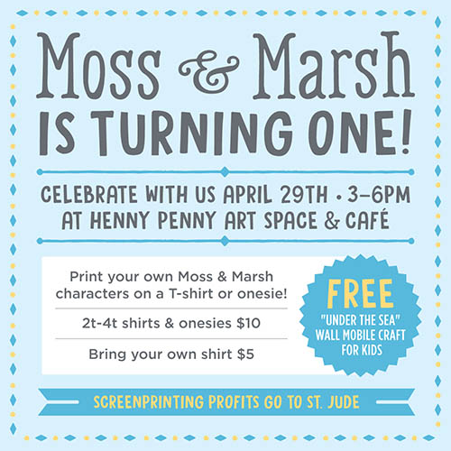 Moss & March Anniversary Party 2017