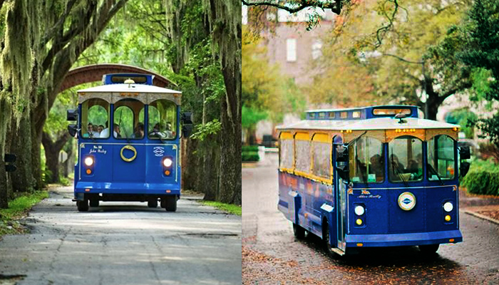 Oglethorpe Trolley Tours of Savannah