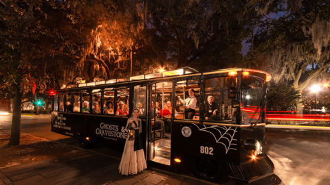 Old Town Trolley Ghosts and Gravestones Tour