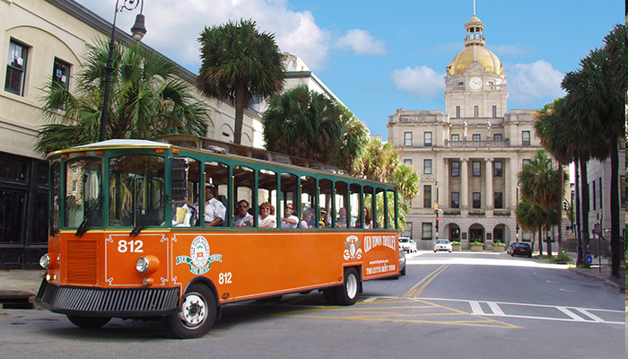 Old Town Trolley Tour in Savannah