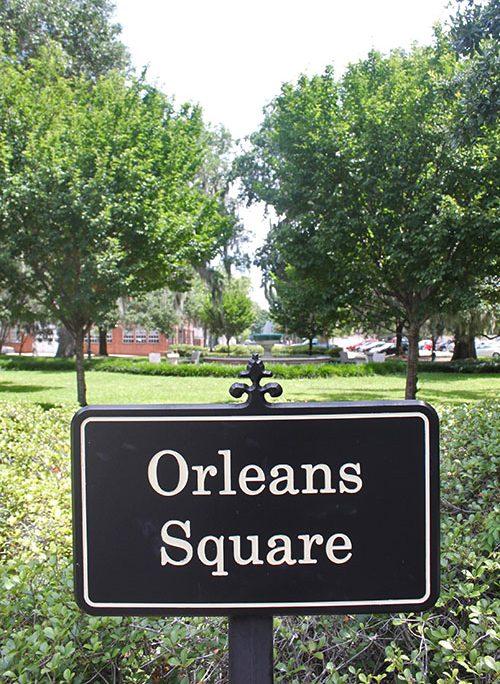 Orleans Square in Savannah