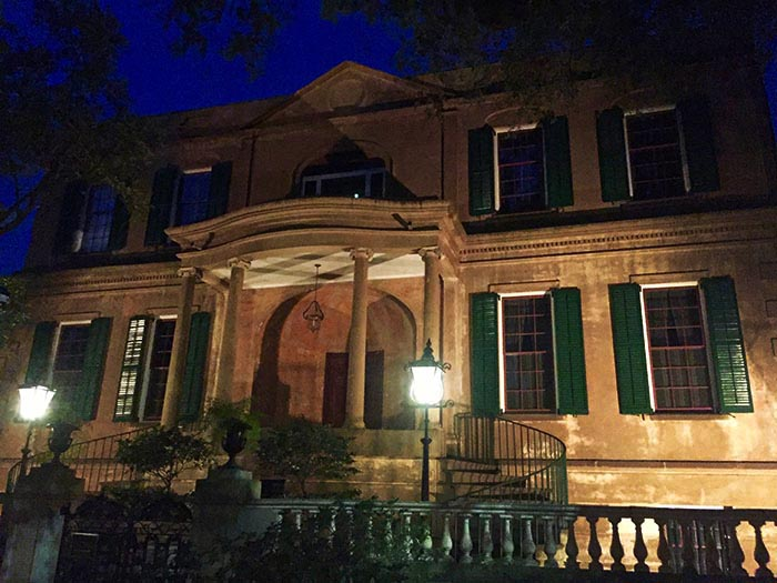 Owens-Thomas House hosts one five famous Savannah spirits