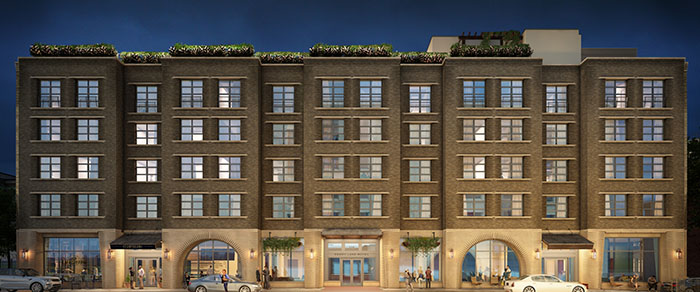 Perry Lane Hotel in Savannah Rendering