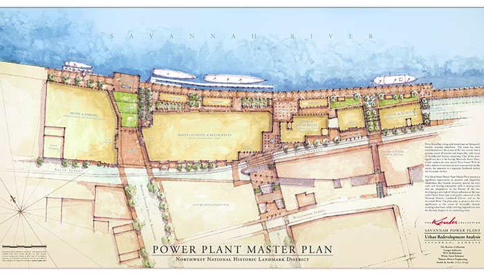 Plant Riverside District in Savannah Power Plant Plan