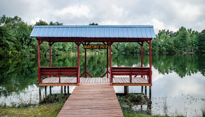 Red Gate RV Park fishing pond