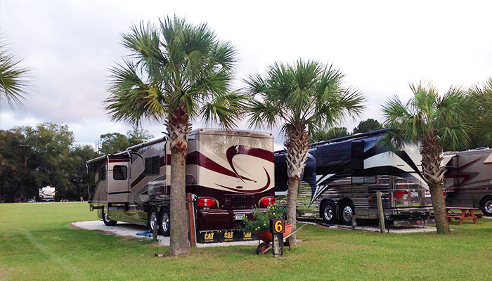 Red Gate RV Park in Savannah GA