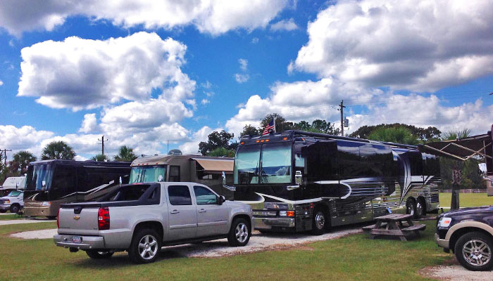 Red Gate RV Park in Savannah