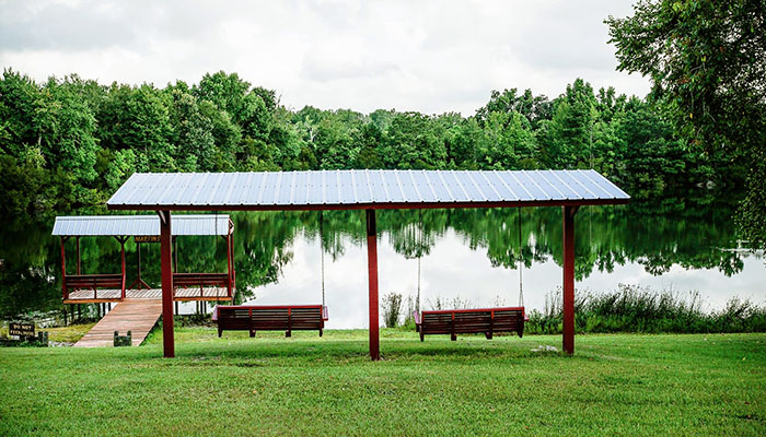 Red Gate RV Park lake