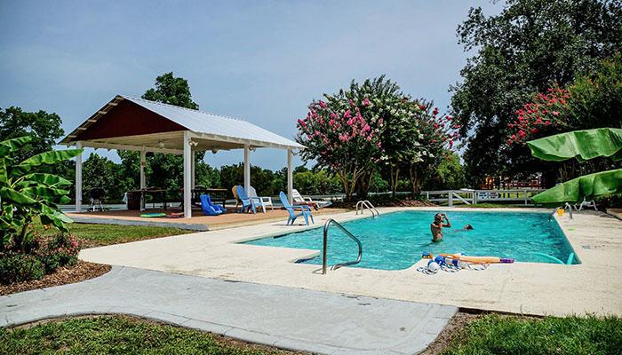 Red Gate RV Park pool