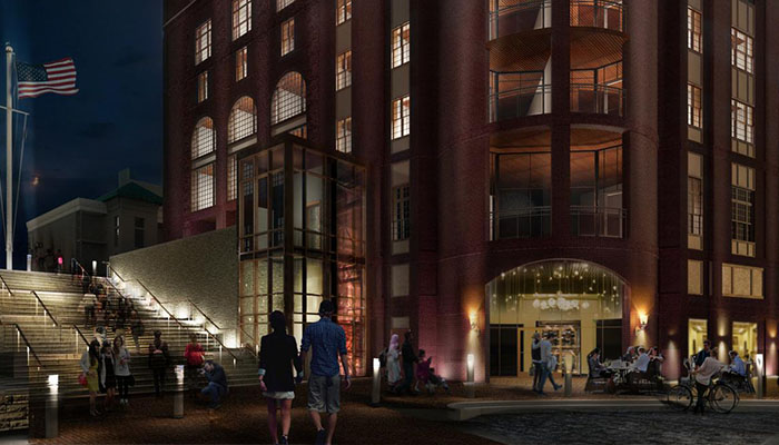 Rendering of The Hotel at 412 Williamson in Savannah
