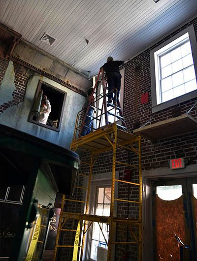 Restoration and Renovation at the American Prohibition Museum