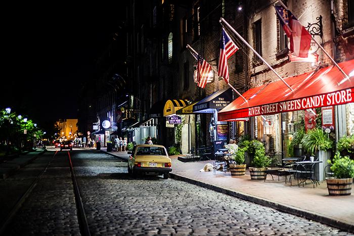 River Street at Night