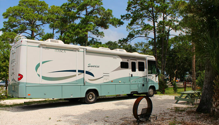 River's End Campground RV Space