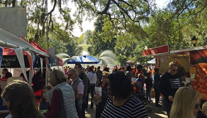 Savannah Children's Book Festival in Forsyth Park