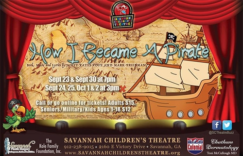 Savannah Children's Theatre How I Became A Pirate