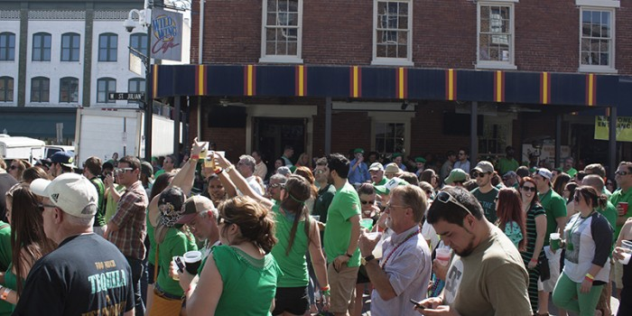 Savannah City Market St Patricks Day