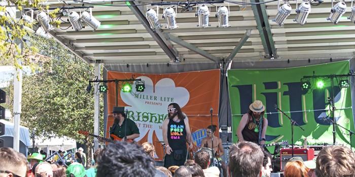 Savannah City Market St Patrick's Day
