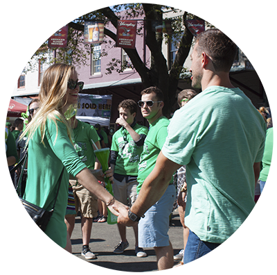 St Patricks Day Celebration in Savannah