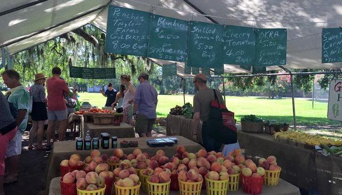 Savannah Forsyth Farmers' Market